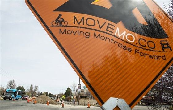 Possible Traffic Delays with Moving Montrose Forward Roadwork