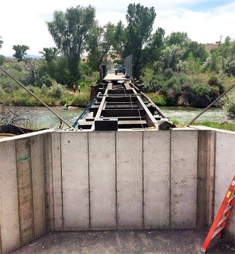 Bridge to reopen June 22.